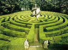 I labirinti giardino for Giardino labirinto