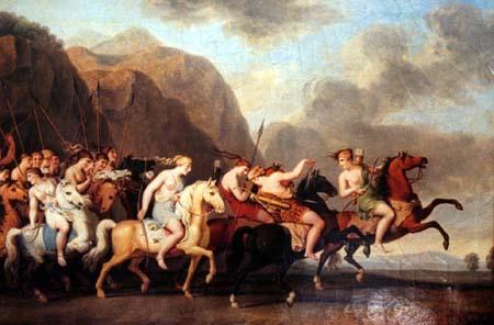 Dee guerriere for En la mitologia griega la reina de las amazonas